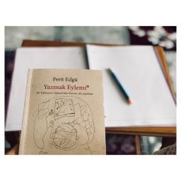 """Yazmayı Sevenlere, Ferit Edgü'den """"YAZMAK EYLEMİ"""" #eceninkitapyorumu"""