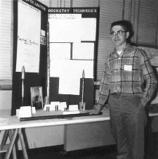 Homer Hickam Jr. at Science Fair, 1960 - RESIZE 2